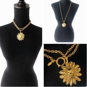 CHANEL Vintage 90s Lion Necklace